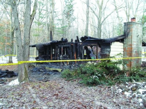 Harrison Fatal House Fire Aftermath